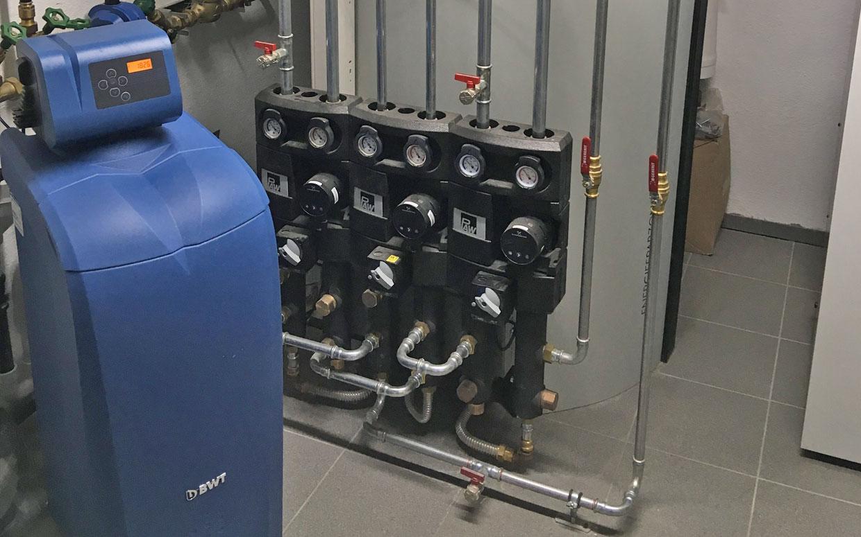Heizwasser Management durch LINK3