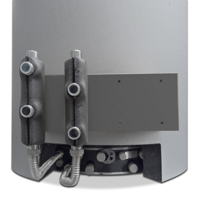 Schichtenspeicher Fixverrohrung RV00-4300 / RV-5400