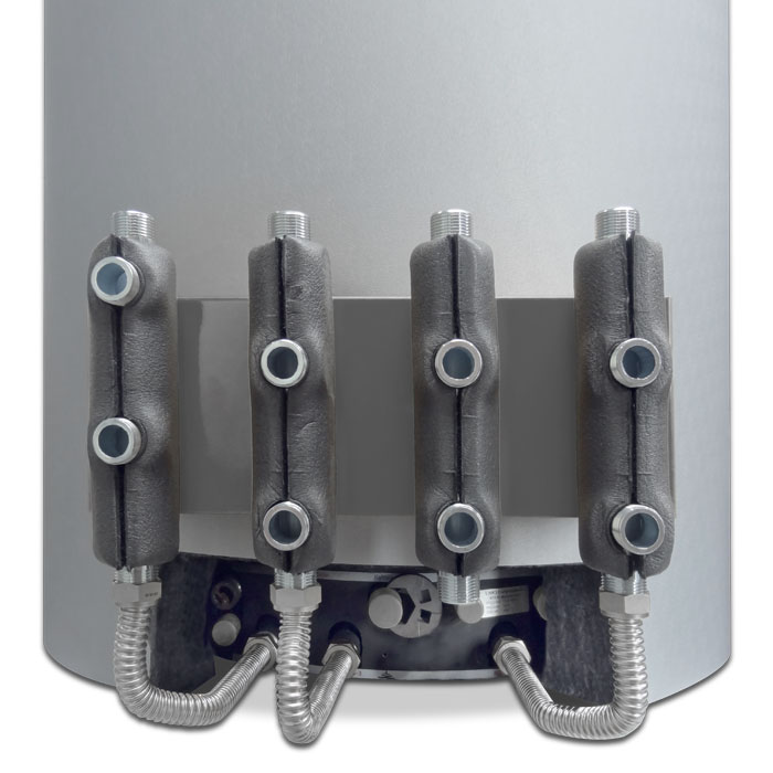 Schichtenspeicher Fixverrohrung RVRV4332 / RVRV5443